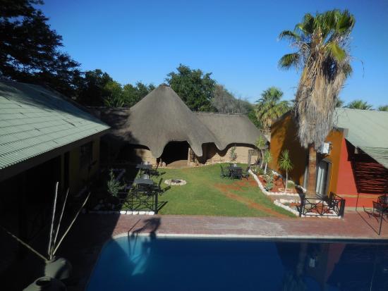 Gochas, ناميبيا: Blick vom Zimmer