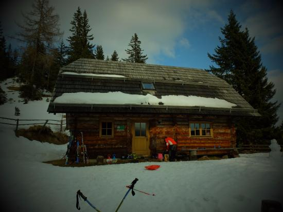 Bad Sankt Leonhard im Lavanttal, Austria: Schihütte im März 2016