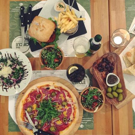 The Circle Eatery : Fresh, tasty food