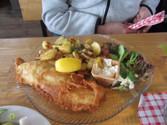 Boots-Haus am Dieksee: Fietes Backfisch