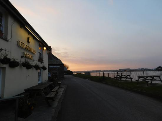 The Edgcumbe Arms at Sunset