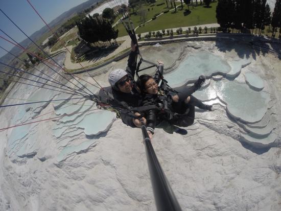 Pamukkale Tandem Paragliding