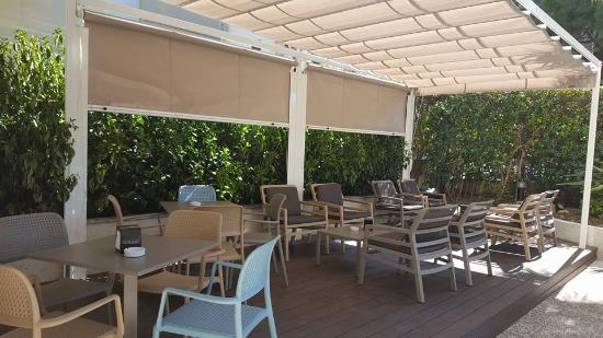 acqua hotel salou pergola terraza - Pergola Terraza