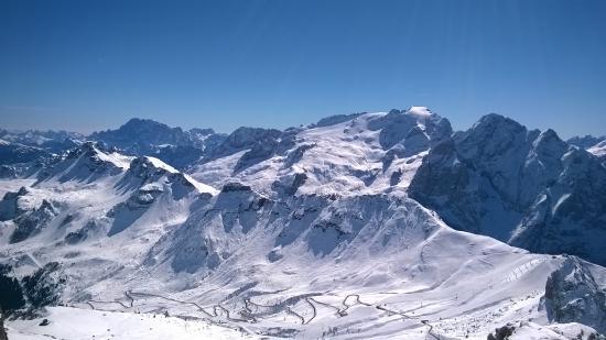 marmolada - Picture of La Terrazza delle Dolomiti, Canazei - TripAdvisor