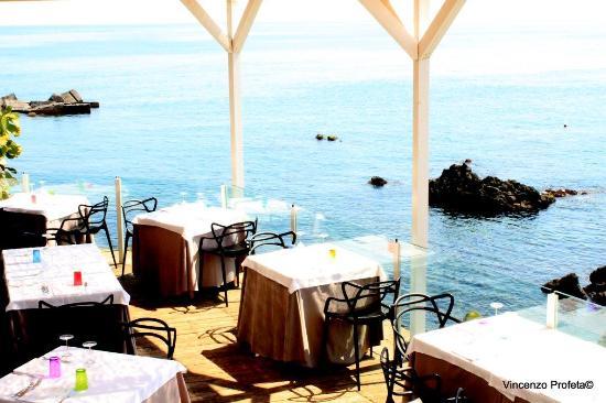 La terrazza sul mare - Picture of Ristorante Acquapazza - Santa ...