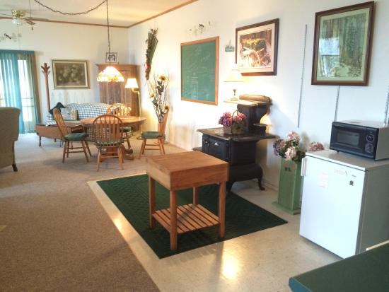 Baileys Harbor, WI: Garden Suite