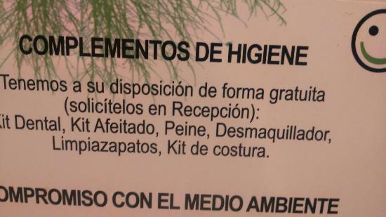 Hotel Balneario De Lanjaron: Un gran detalle en letra pequeña