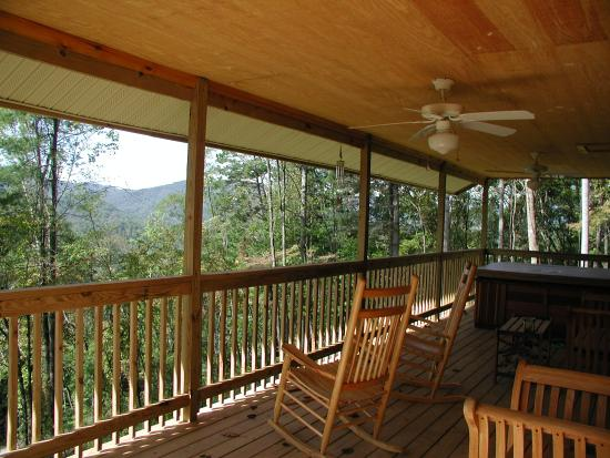 Nantahala Cabins: Cabin #9 Hot Tub And View