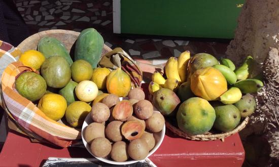 Saint Andrew Parish, Grenada: fresh local fruit