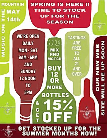 Tennessee Valley Winery: 2016 Events