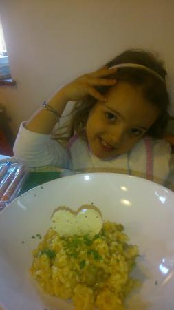 Montefegatesi, Ιταλία: risotto rimavera