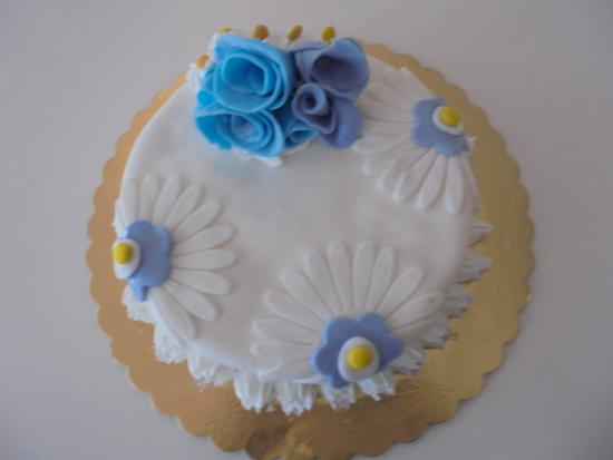 Bar Calipsho : Torta decorata con pasta di zucchero