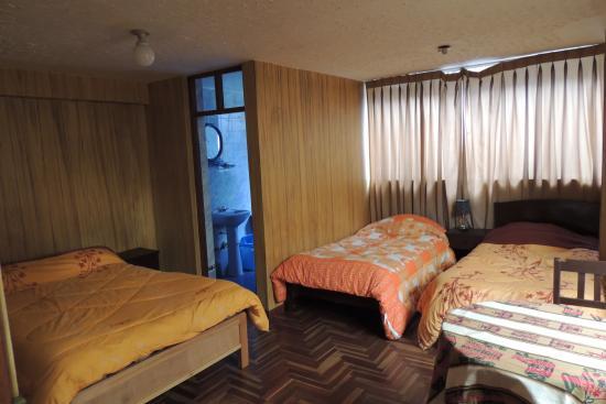 Hostal Qoniwasi : Nuestras habitaciones