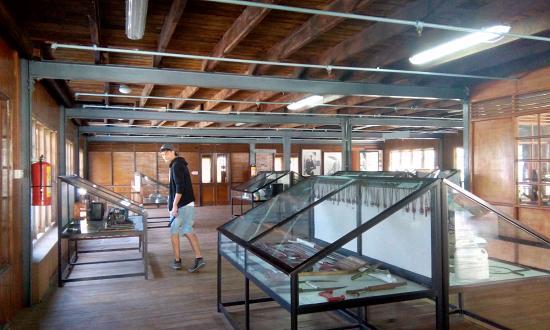 Ceylon Tea Museum: exhibition floor