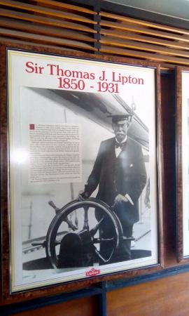Ceylon Tea Museum: Sir Thoms J. Lipton impressive story