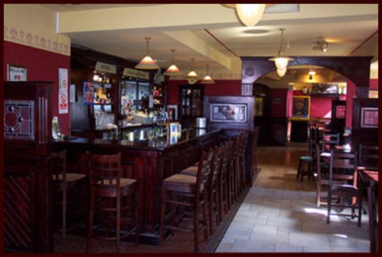 Connaughton's Bar, part of the Achill Sound Hotel