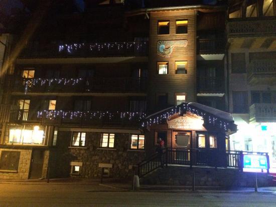 Au Coq de Bruyere Hotel: From across the street