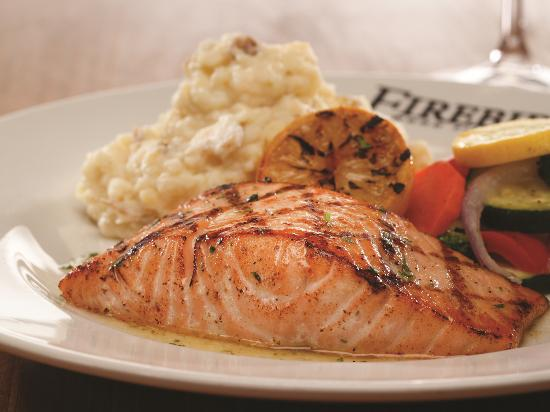 Niles, OH: Wood Grilled Salmon