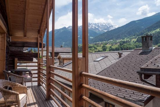 Le Chable, Switzerland: Balcony
