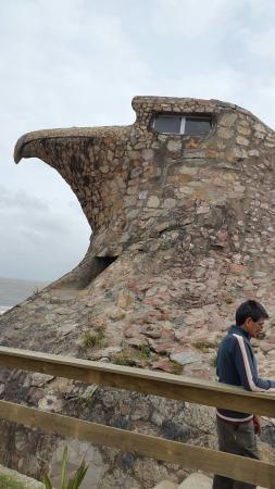 Hotel Playa Brava: Una vista de la Playa de Atlantida desde El Aguila
