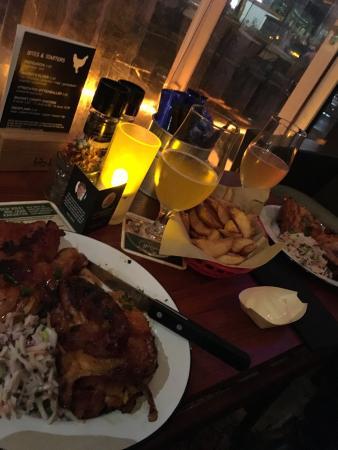 halve kip en heerlijk streekbier! - picture of kloek, utrecht