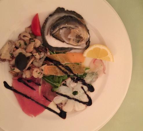 Upscale seafood