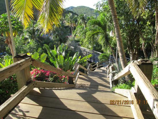 the stairs picture of sugar bay resort spa east end tripadvisor rh tripadvisor com