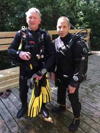 Ottawa, OH: Mika & Jim Fall 2016 --- Mika's AOW Checkout Dives