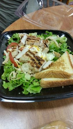 Grilled Chicken Salad Picture Of Zaxby S Prattville Tripadvisor