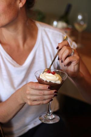 Graze Slow Food Cafe : Choc Mousse