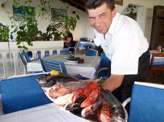 Jadranovo, Hırvatistan: fresh fish and lobsters