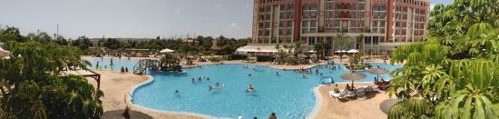 Mutxamel, Espagne : panoramica piscina