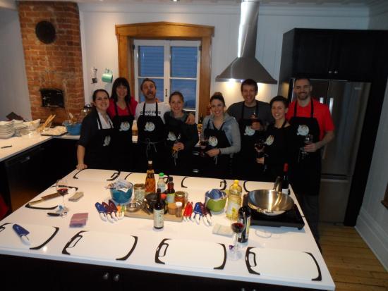 Notre cours de cuisine chinoise chez Madame Germaine