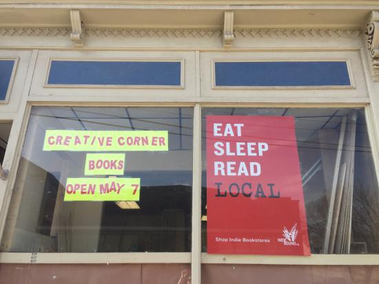 Hobart, NY: Creative Corner Books opening May 7, 2016