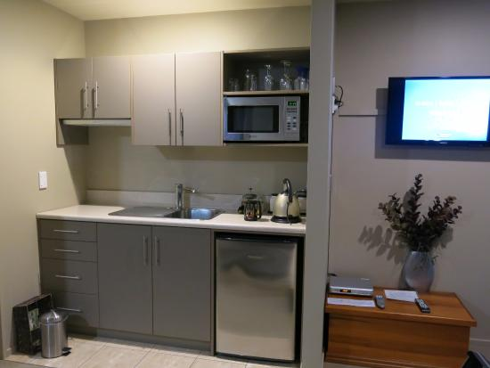 Blue Ridge Boutique Accommodation : Cozinha.