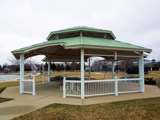 gazebo picture of ludington waterfront park ludington tripadvisor rh tripadvisor com
