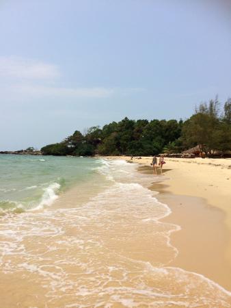 Makara Bungalows: Strand in der Nähe