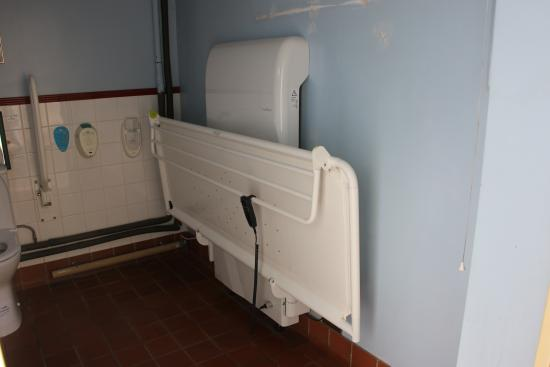 The Trolleybus Museum At Sandtoft: This Height Adjustable Changing Bench Is  Located In Our