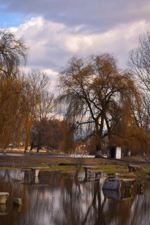 Maramures County, Rumania: Teplițe Lake_ROSCI 0251 Upper Tisza Natura 2000 protected area
