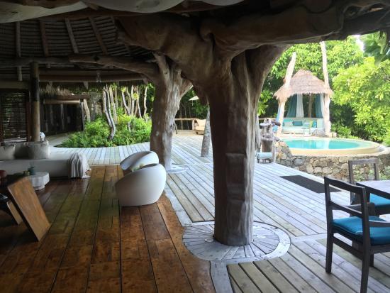 North Island Seychelles Aufnahme