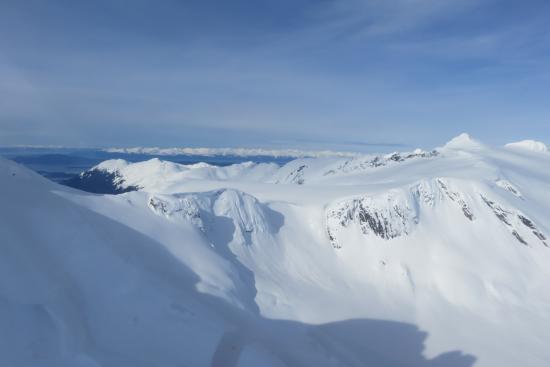 Alaska Powder Descents: A lot of potential lines...