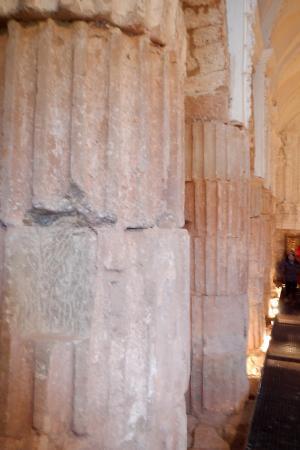 Tricio, Espagne : Vista de las columnas
