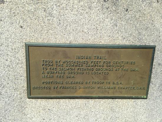 """Brewer park """"Trod by moccasined feet.."""""""