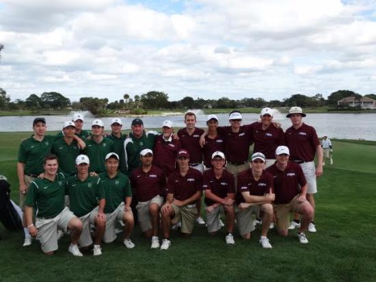 PGA National Resort and Spa: Fordham played Dartmouth in a match on the Champ course.