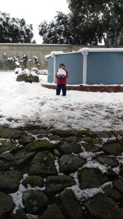 Espinar, España: Nieve!!!