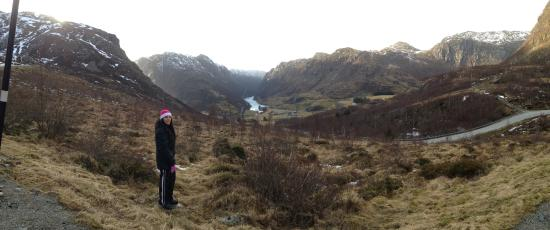 Rogaland, Norwegia: The valley of Byrkjedal