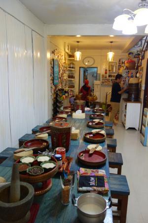 prep room on ground floor picture of silom thai cooking school rh tripadvisor com sg