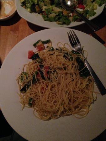 Spinach Articoche Spaghetti Picture Of California Pizza