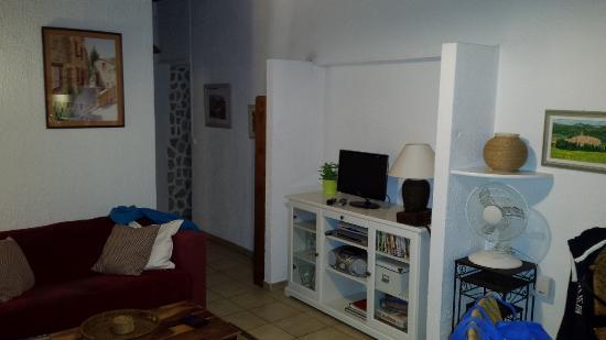 Sablet, Frankrijk: Living room