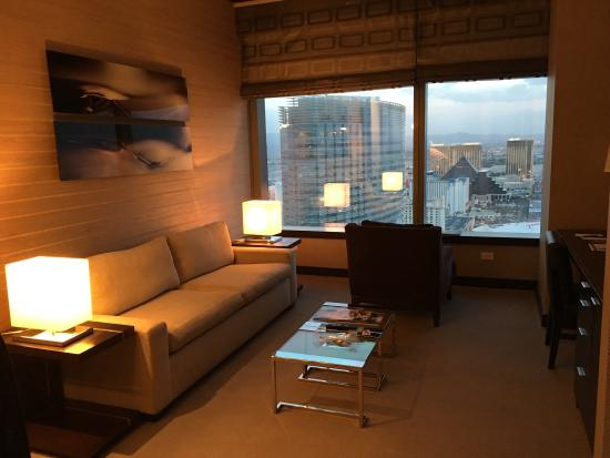two room suite with expansive windows picture of vdara hotel spa rh tripadvisor com
